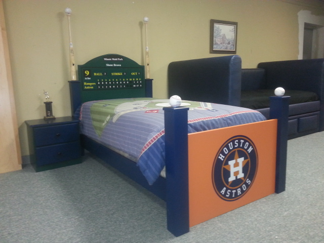 Article Image Baseball Bed With Scoreboard Headboard