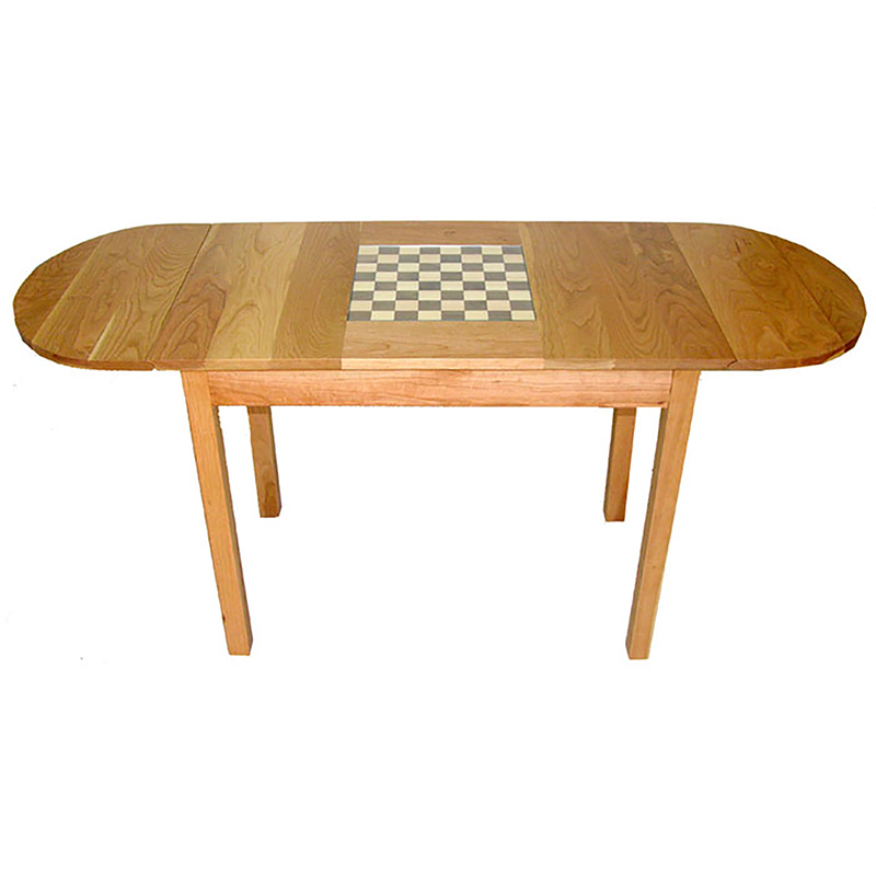 Cherry wood chess table finewoodworking - Wooden chess tables ...