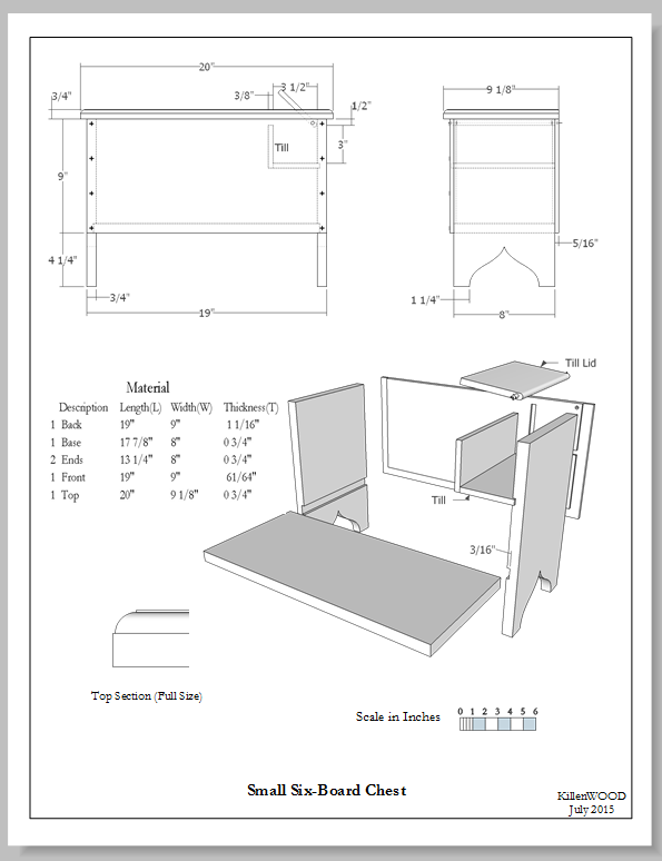 Furniture Drawing Styles Old Vs New Finewoodworking