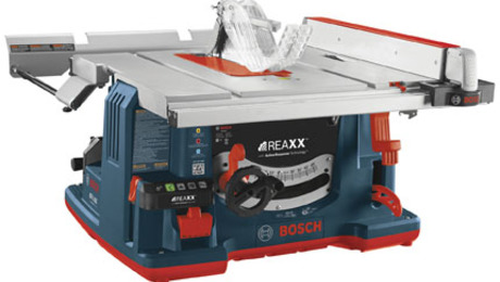 "Bosch Power Tools has announced the release of a jobsite tablesaw with ""flesh detecting technology."""
