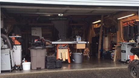 My shop in progress - FineWoodworking
