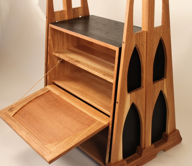 St. Johns Valet (coat rack and shoe cabinet) - FineWoodworking