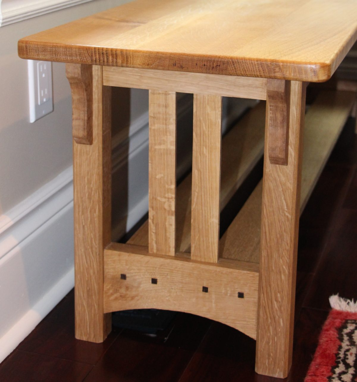 Craftsman Stool And Table Set Set Of 3 Craftsman Style Tables Finewoodworking