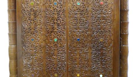 Torah Ark With Compound Curve Doors