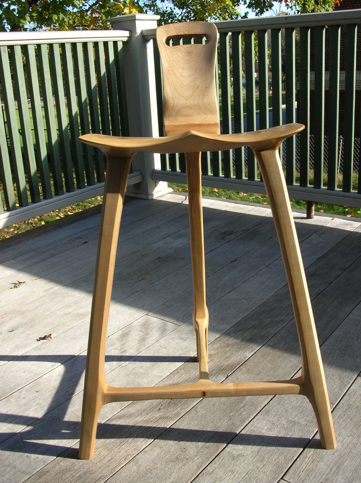 Tage Frid Inspired 3 Legged Stool Finewoodworking