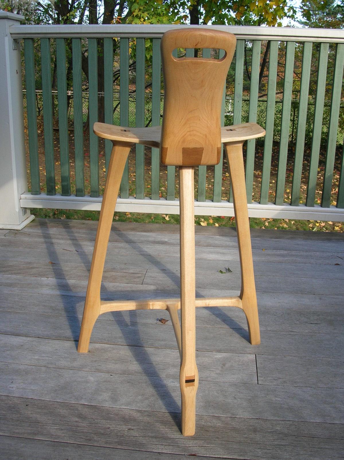 Tage Frid Inspired 3 Legged Stool Finewoodworking