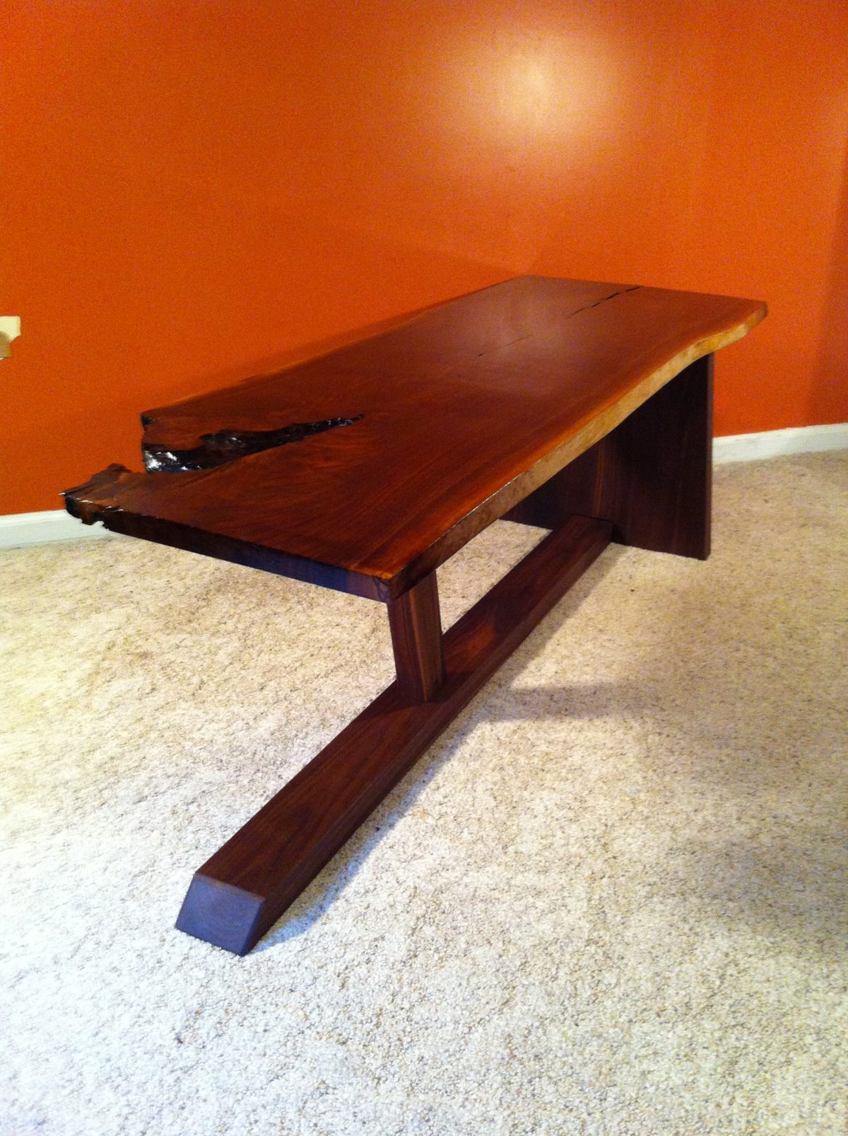 Nakashima inspired coffee table FineWoodworking