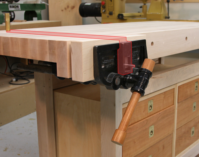 Bench dog vise eight tips for securing work to a benchtop finewoodworking Bench dog