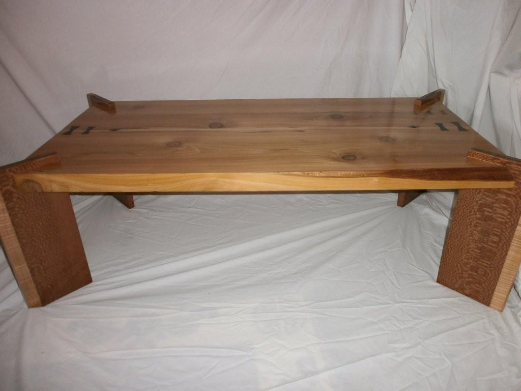 Old Growth Red Cedar Coffee Table