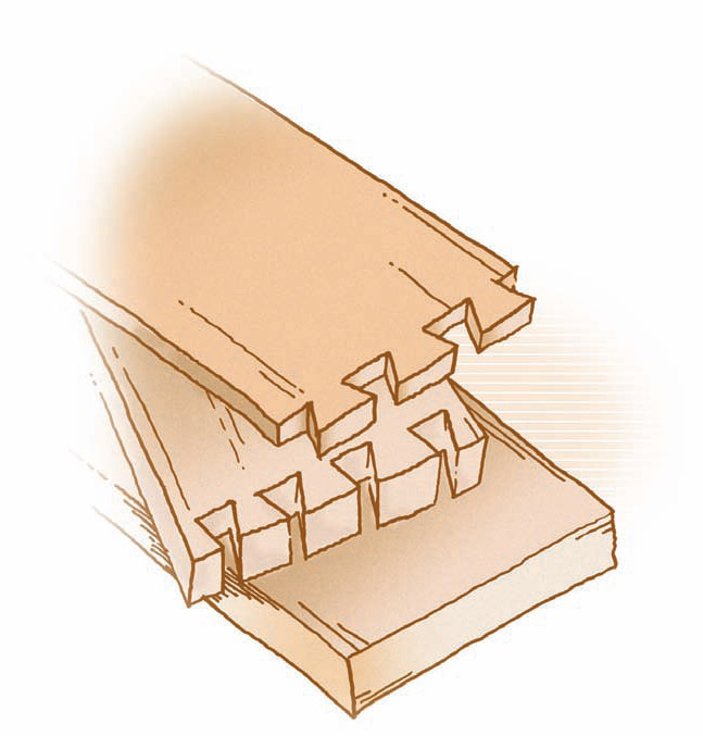 dovetails