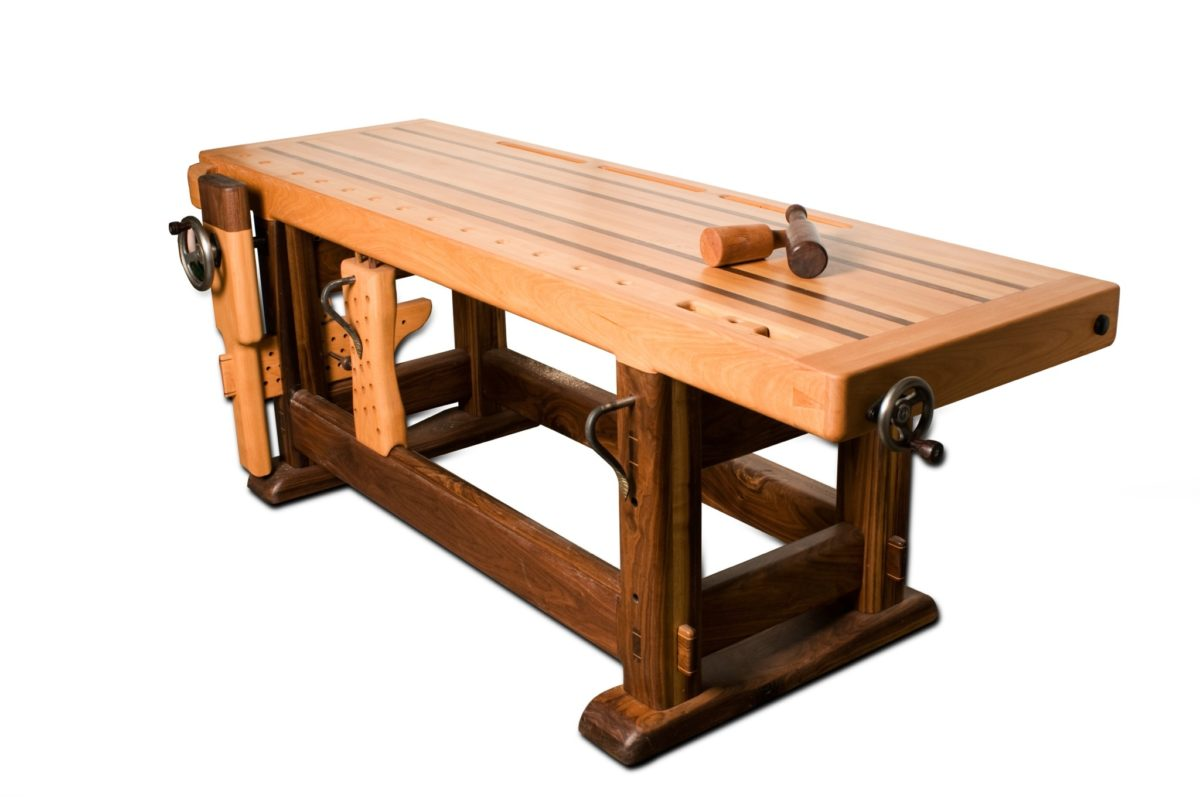 Excellent This Project Is Nothing Special As Most Woodworkers Have Built A Split Top Roubo Workbench Or Just Any Woodworking Workbench  It Was Based On A Plan By Benchcrafted And My Tail Vise Is Of Benchcrafted As Well The Wood Material