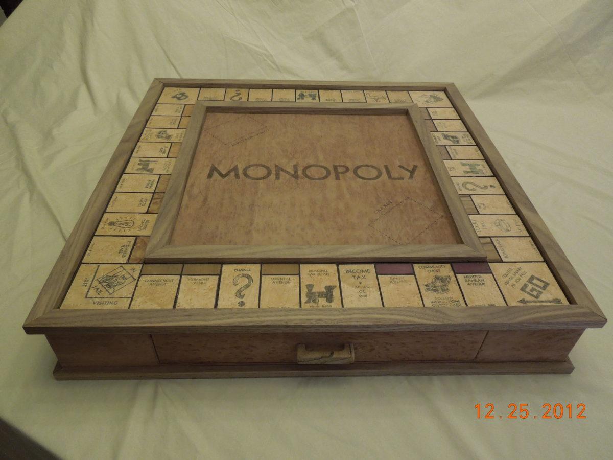 Monopoly Board Finewoodworking