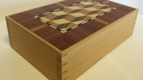 Beech Dovetail box