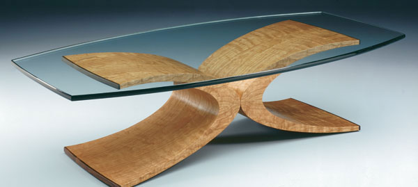 Curved Coffee Table FineWoodworking