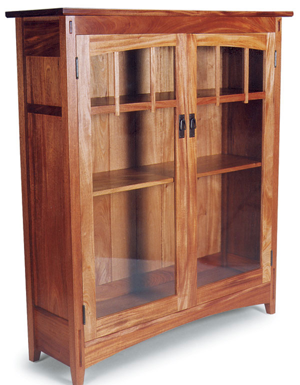Arts and Craftsstyle Bookcase FineWoodworking – Arts and Crafts Bookcases