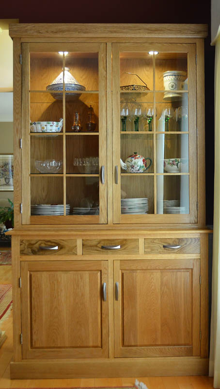 China Cabinet in White Oak - FineWoodworking