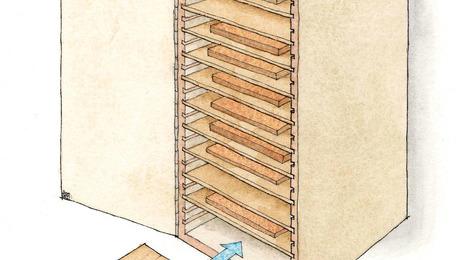 Smart Sandpaper Storage - FineWoodworking