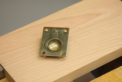 1) Hereu0027s The Problem: This Style Drawer Pull, With Itu0027s Deep Finger  Recess, Can Be A Bit Tricky To Mortise For.