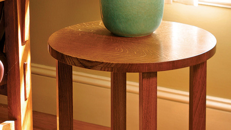 The simplicity of the table's design makes it at home in a variety of roles and settings in your home.