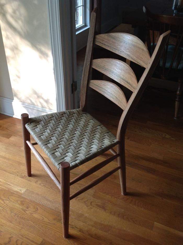 3 Slat Ladderback Chair Finewoodworking