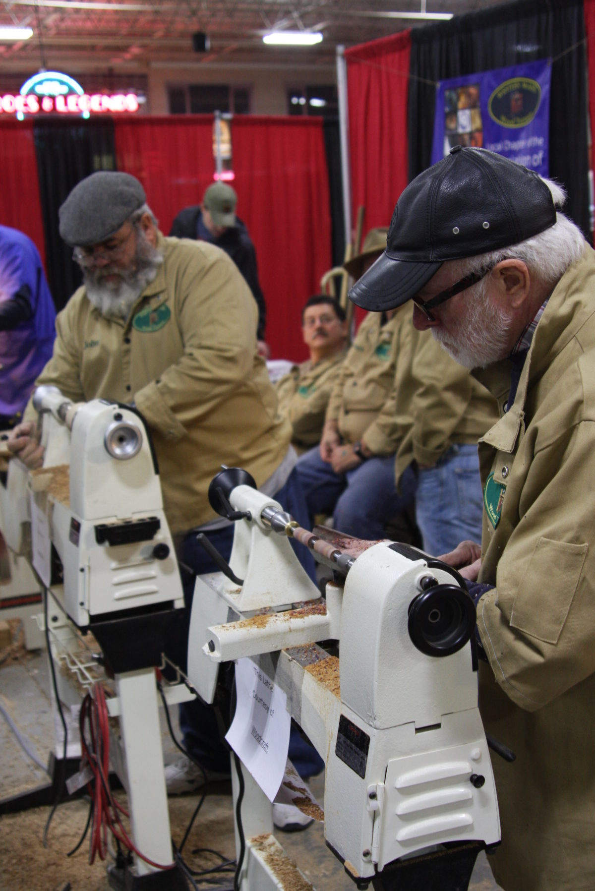 Other local groups included Central Connecticut Woodturners, Central New England Woodturners, Connecticut Wood Carvers Association, Eastern Massachussetts ...