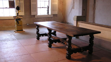 Trestle Table and Mortiser