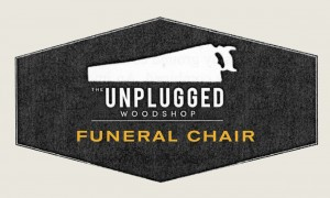 funeral chair badge