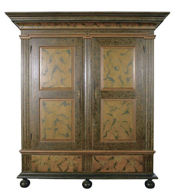 colonial style armoire finewoodworking. Black Bedroom Furniture Sets. Home Design Ideas
