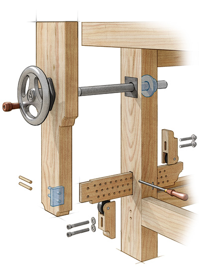 See it in Motion: Benchcrafted Vise is a Breeze to Use - FineWoodworking