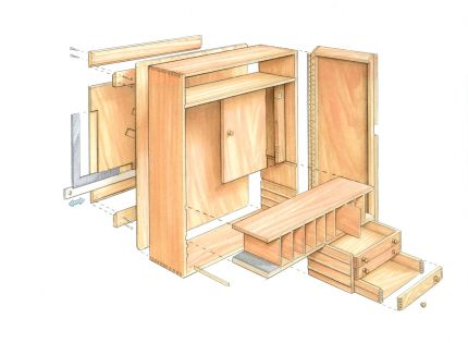 Quick to Build Tool Cabinet - FineWoodworking