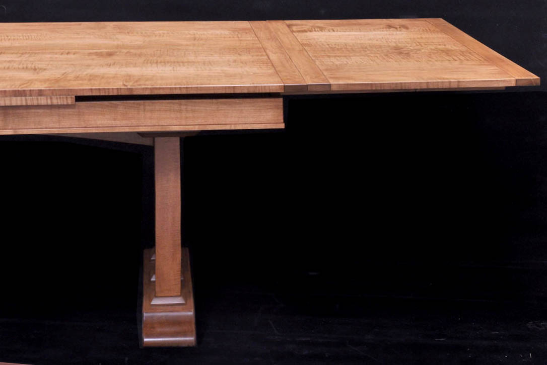 another dining table with self storing leaves - finewoodworking