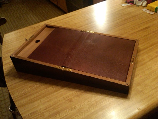 18th Century Writing Slope - FineWoodworking