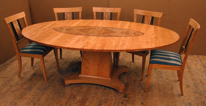 some custom cherry dining room furniture - FineWoodworking