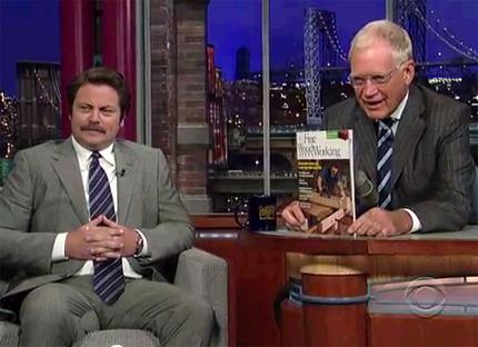 Offerman on Letterman