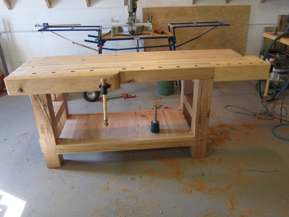 Ruobo style workbench finewoodworking - Construire etabli bois ...