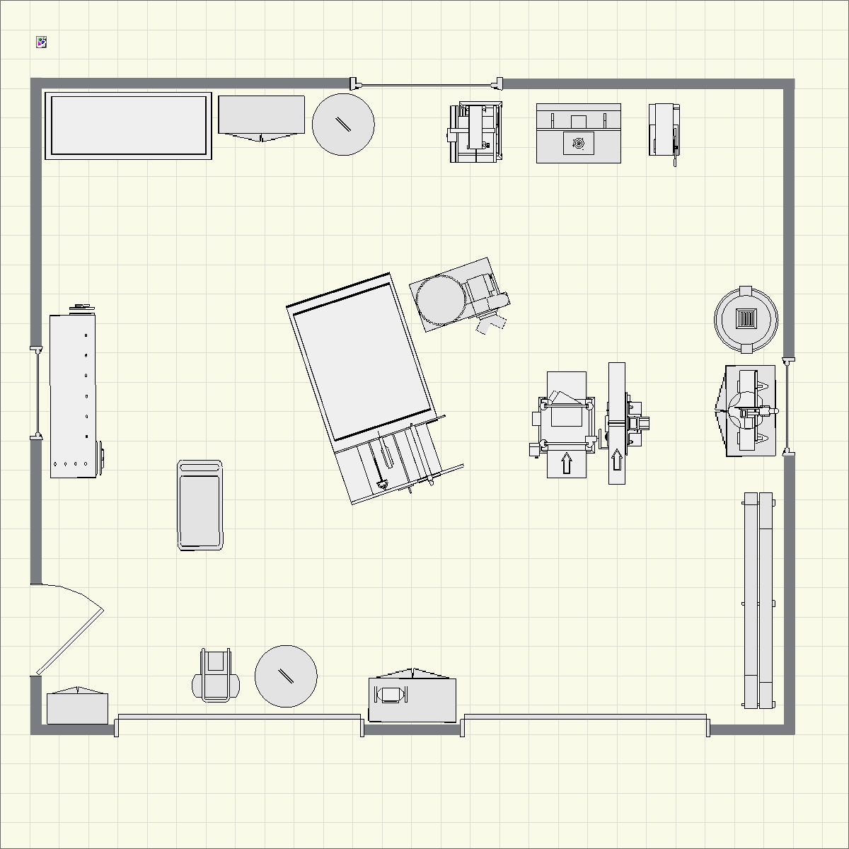 garage workshop layout. creating using finewoodworking.com\u0027s dream shop planner tool garage workshop layout h
