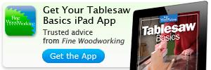 tablesaw ipad app