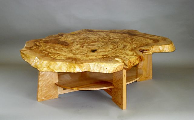 Burled Maple Coffee TableFineWoodworking