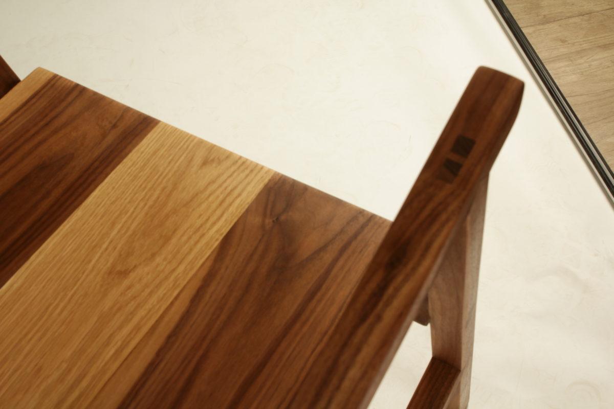 Walnut chair - FineWoodworking
