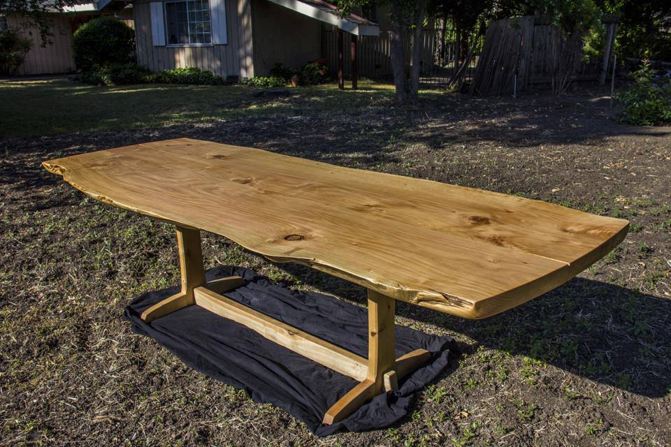 Golden Gate Park Cypress Dining Table FineWoodworking : cypresstable2 from www.finewoodworking.com size 960 x 640 jpeg 127kB