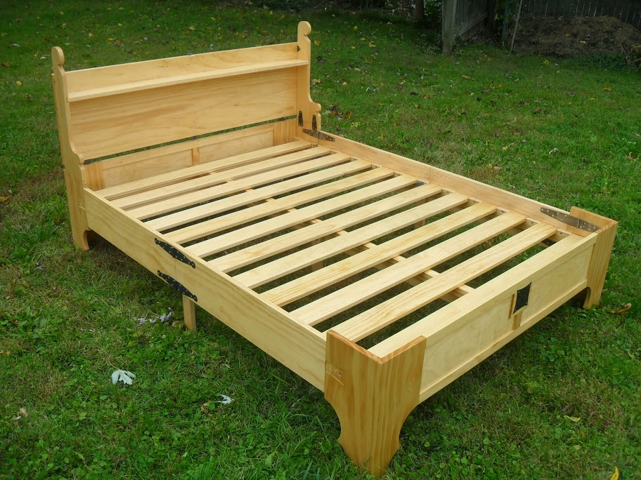 Bed Frame Into Bench