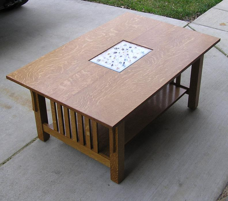 Modified Craftsman Style Coffee Table Finewoodworking
