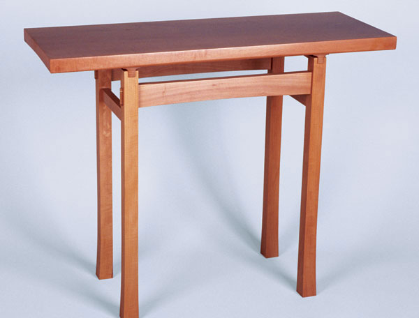 Woodworker: Randall Miller. Milleru0027s Asian Looking Hall Table ...