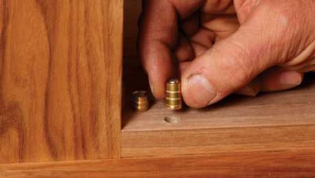 If you need to realign a poorly installed bullet catch, have no fear--the answer is here.