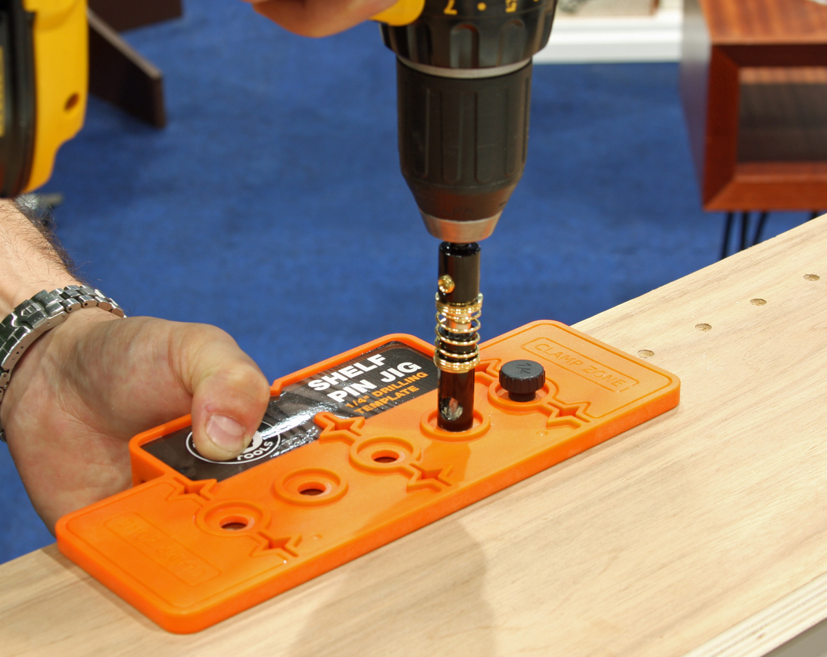 shelf pin drilling machine