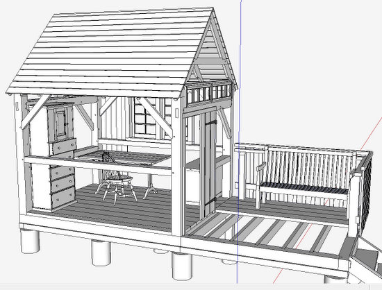 Image Result For Sketchup Shed Plans Amazona