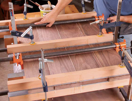 clamping cauls the secret to great glue ups finewoodworking. Black Bedroom Furniture Sets. Home Design Ideas