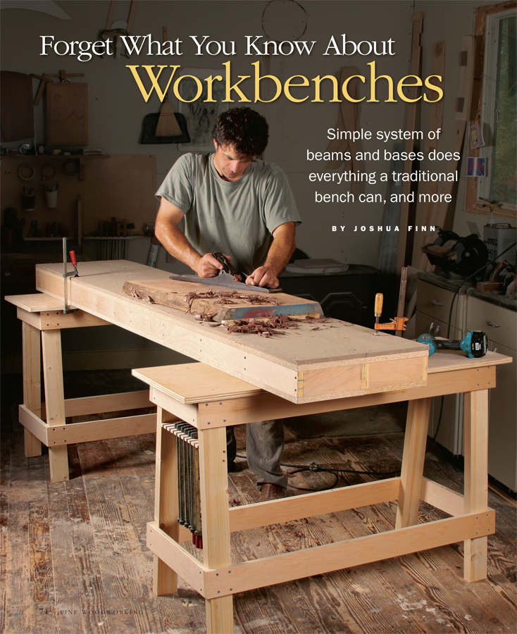 A Workbench Anybody Can Build Finewoodworking