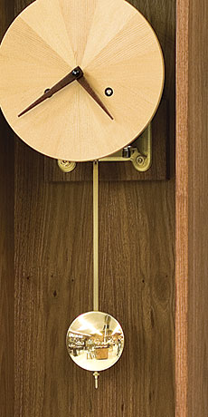 Perfect Granadillo, Hemlock, And Snakewood Clock. This Wall Clock Is One Of My  Favorite Fine Woodworking Readers Gallery Pieces. Home Design Ideas