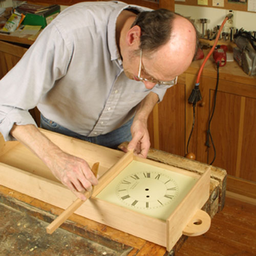 CLICK HERE To Download The Free PDF Article And Woodworking Plan For  Becksvoortu0027s Clock.
